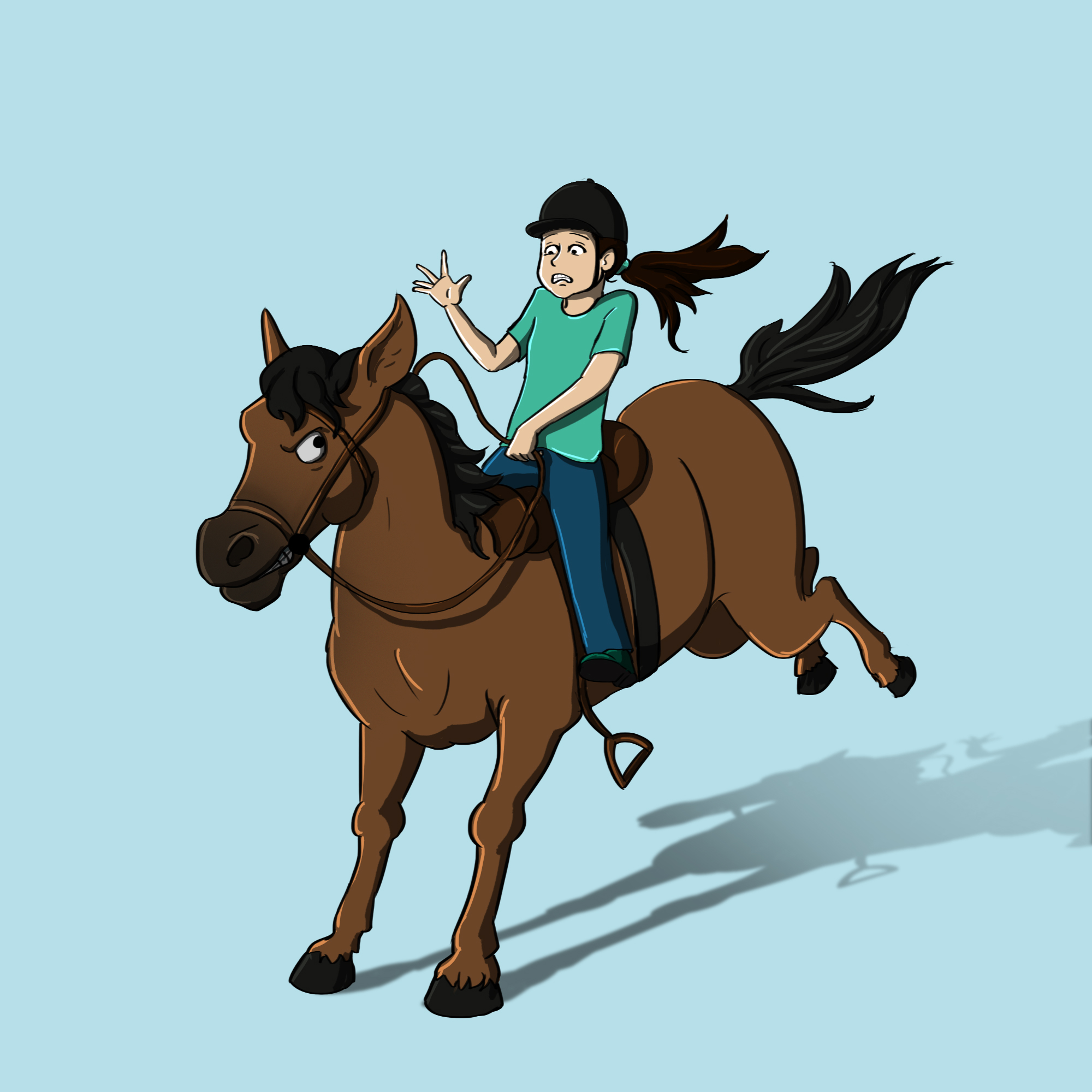 Common horse riding mistakes